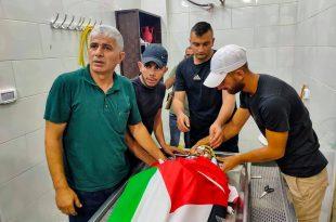 أحد الشهداء الأربعة الذين ارتقوا برصاص الاحتلال فجرا في جنين