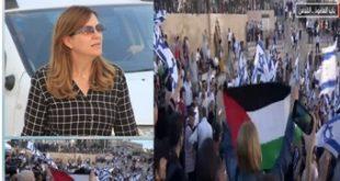 هالة الشريف في باب العامود… علم فلسطين يرفرف في البعد الرابع للقدس