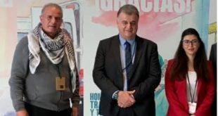 فلسطين تشارك في المؤتمر العام لإتحاد اللجان العمالية باسبانيا