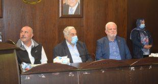 احتفال حاشد في سفارة فلسطين في أمسية وفاء لمؤسسين راحلين في الحملة الأهلية